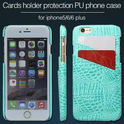 Soft Wallet Leather Case For iPhone 5 6S With Card Holder Phone Case For iPhone5 S iPhone6S
