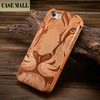 hot selling special design back phone shell wood case for iphone 5s