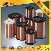 ISO Certificated Class B,F Enamel Covered Copper Winding Wire Lacquered Wire for Winding Motors
