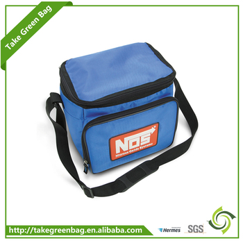 Customized reusable non woven portable cooler lunch box