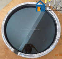 Aluminum Circle Window, Arched Window, fixed round aluminum window
