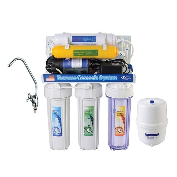 Latest styles High quality 6 stage 50 /75 gpd direct drinking home water filter purifier RO system undersink water <strong>filtration</strong>