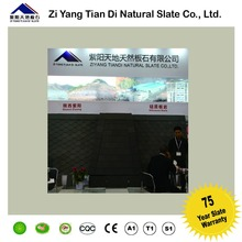 CE Passed Black Stone Tile Natural Slate Roof manufacturer