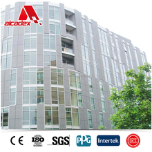 Titanium Zinc Composite Panel for facade cladding