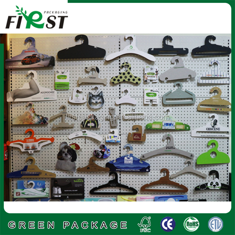 Dog clothes paper hanger design pets paper hanger