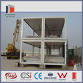prefab moveable cheap 20ft container house with CE certificate