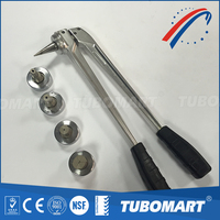 pipe expander whole set pipe tool for pex and pex-al-pex pipes