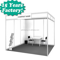 aluminum profile exhibition booth designs / trade show exhibits / banner stands