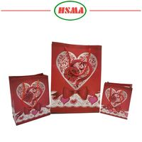 Free sample plastic gift paper bags small plastic drawstring gift bag