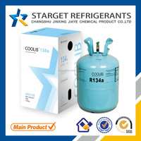 HFC refrigerant gas r134a, 99.90% pure, air conditioning & refrigerator car on sale