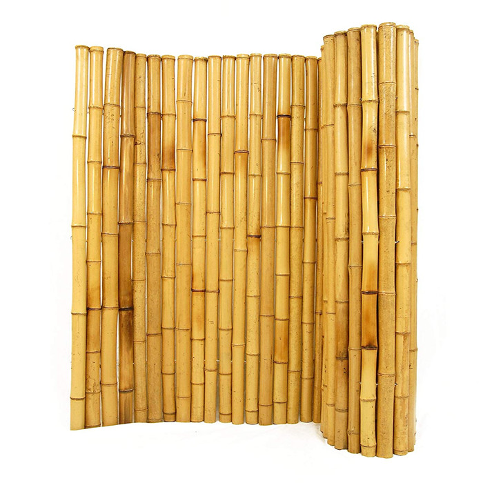 14-20mm  High straightness bamboo fence for villa