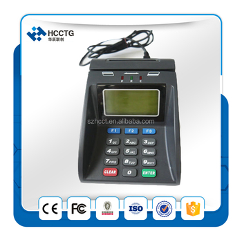 SAM card contactless card reader/writer atm machine with pinpad-- HCC890