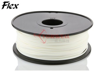 1.75/3mm Flexible (similar with NinjaFlex) Filament Cartridges for FDM, Ultimaker and MakerBot 3D printer