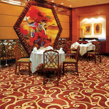 Wilton Floral Pattern Carpet Coffee House Wall to Wall Carpet
