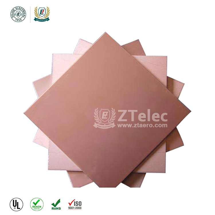 Epoxy fr4 CCL MCPCB copper clad laminated sheet