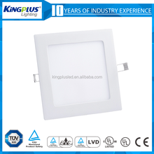 Factory price 3w 4w 6w 12w slim round led ceiling panel light 18w for India market