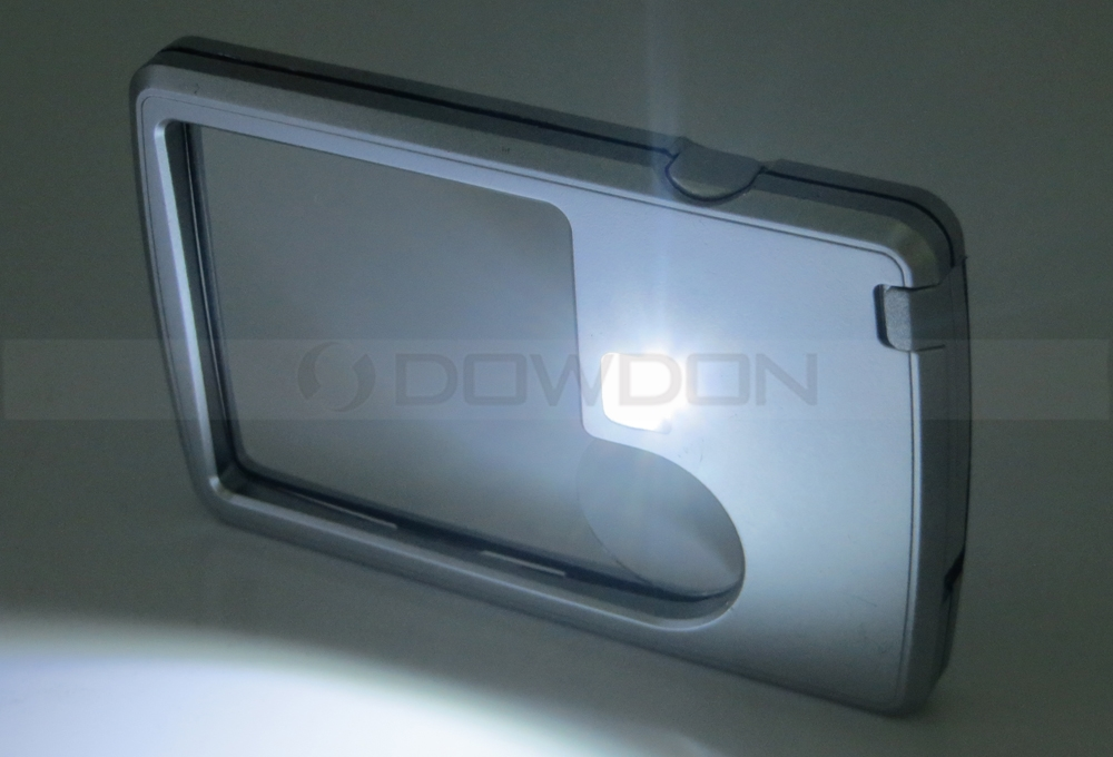 Promotion Gift 3X 6X LED Pocket Magnifiers