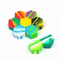 26ml small hexagon platinum cured silicone container