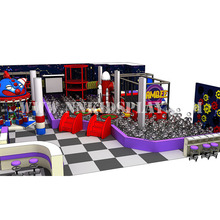 Intelligence Develop Adventure Children Integrated Used soft foam Indoor Playground