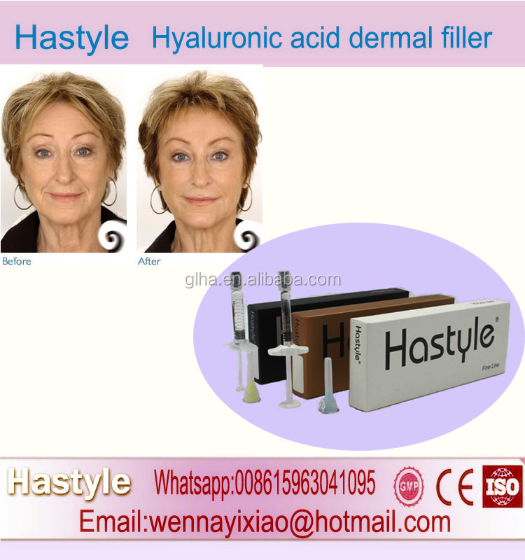 1ml CE Mark Derm Deep ha filler Pharmaceutical Grade Hyaluronic acid injection drop ship Hastyle Hyaluronic acid dermal filler