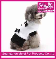 2016 New dog pet supplies accessory wholesaler dog sweater dog show suits