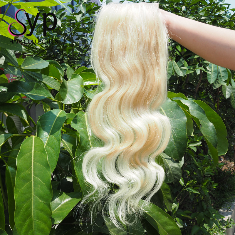 613 Blonde Silk Base Full Lace Human Hair With Closure Wholesale Products From China