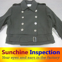 Clothes Inspection services/PSI/ garment fabric quality control in guangzhou