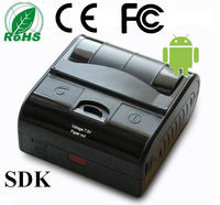 80mm QR Barcode Printer Portable Android Bluetoth Thermal Printer for Smartphone and Tablet PC with SDK Provided