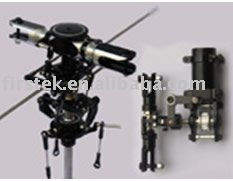 Metal Main Head Rotor and Tail Rotor Assembly Upgrade for ALIGN t rex Trex500 RC Helicopter