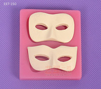 fondant chocolate mask mold,mask shaped cake mold,silicone gum paste mask mold