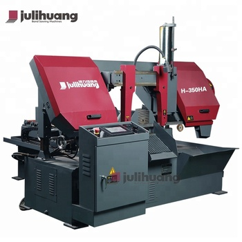 High Quality JULIHUANG CE ISO Approved CNC Full Automatic Band Sawing Iron Metal Cutting Machine for OEM/ODM