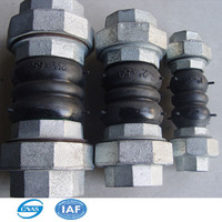 "JIS standard 2"" DN50 threaded rubber joint connector pipe fittings"