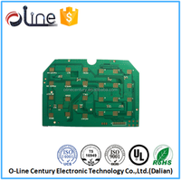 Universal single side CEM-1 Halogen free numeric keypad pcb