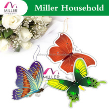 butterfly shape coffee scented hanging car air freshener