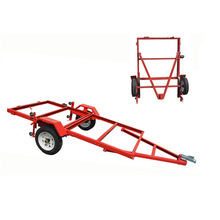 4x8 Foldable Utility Trailer