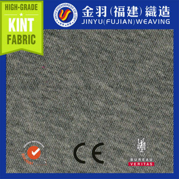 2014 100% spun polyester one side bursh GREY MELANGE