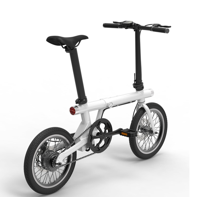 2018 New Model Aluminum Alloy Frame Lightest 16 Inch Mini <strong>Folding</strong> Assist Electric Bike