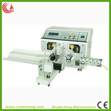 Automatic thick wire cable stripping tool twisting machine