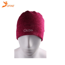Eco-Friendly Graffiti variegated wool hat winter knitted beanie hat