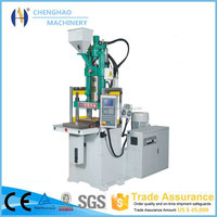 High efficent 100 ton 50ton hand shuttle table vertical hydraulic clamping injection molding machine