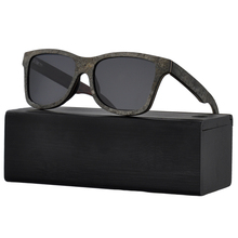 HW304 New 2018 polarized Stone wooden sunglasses for men