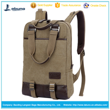 New style hot selling Leisure sports backpacks laptop bag hiking backpack canvas rucksack