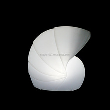 Pearly nautilus shape modern table lamp / simple design table lamp / led garden lamp