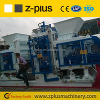 2016 new technology QTY12-15 bricks machinery for block factory plant