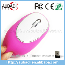 Latest comptuer accessory Soft Wireless Silicone Mouse