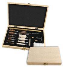 Wooden Case Gun Cleaning Kits