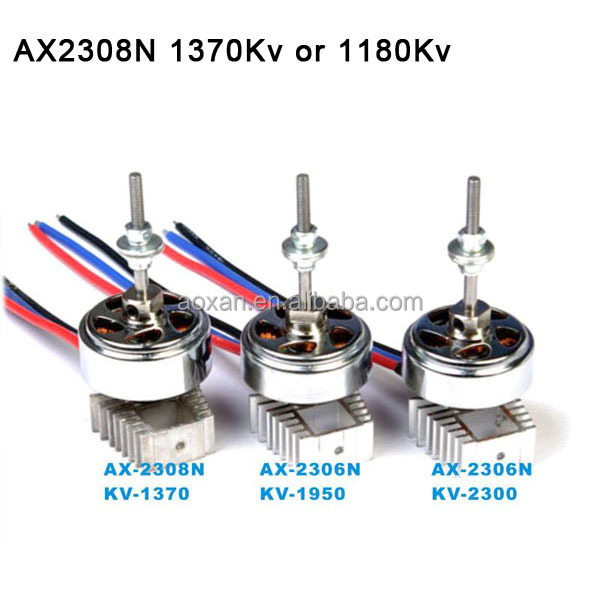 Wholesale AX 2308N rc micro brushless motor in model airplane for rc drone lover