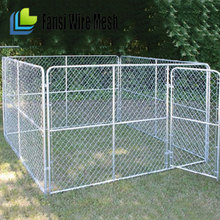 Metal Wire Dog Cage/large dog cage/commercial dog cage