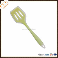 Factory Supply Kitchen Cooking Slotted Turner Silicone Turner