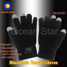 Unisex Wireless Bluetooth Talking Hands Free Touch-screen Gloves for Smart Phone